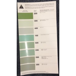Color Chart 255