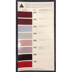 Color Chart 313